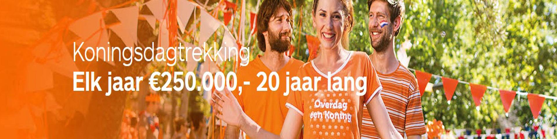 Koningsdag Loterij Gelukszaak Bekker