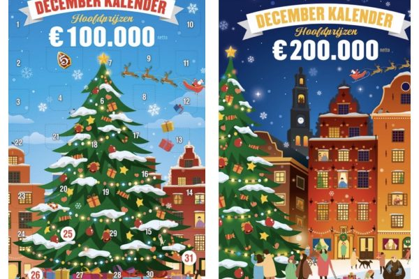 December kalender krasloten